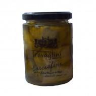 Carciofini in olio extra vergine di oliva 290 gr