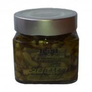 Asparagi coltivati in olio extra vergine 210 gr