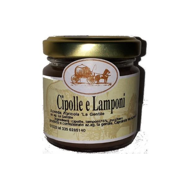 Cipolle e lamponi 100 gr